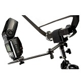 LASTOLITE Trigrip Bracket with Flash Bracket [2430] - Flash Arm, Rail, Bar and Bracket